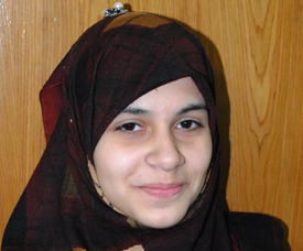 Iraqi girl wins first prize in 'on the spot Sir Syed essay