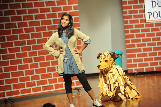 At Oberoi International School, 'Annie' leaves audience