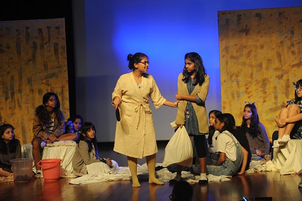 At Oberoi International School, 'Annie' leaves audience spellbound