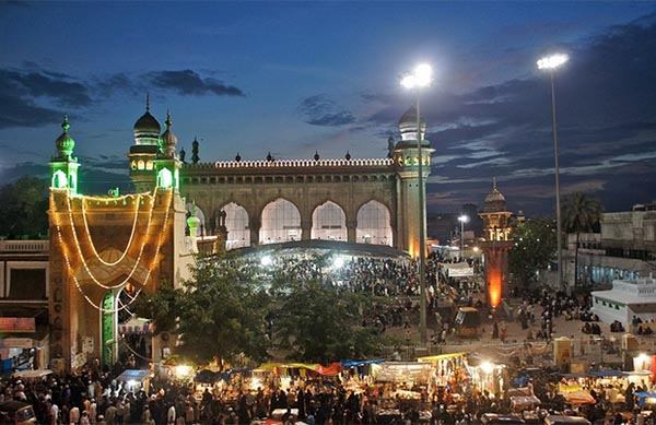 Hyderabad's old city comes alive as Ramadan - holy month of