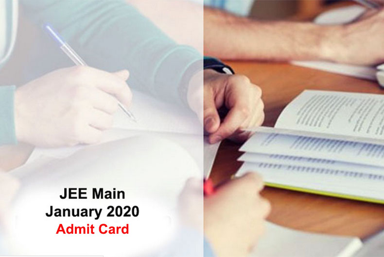 JEE Main Admit Card Released