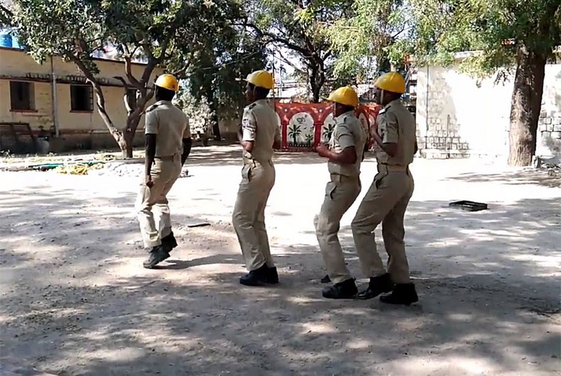 UP Home Guards Sacked